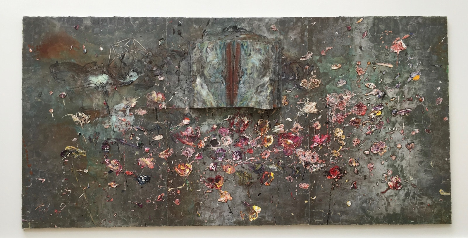 Anselm Kiefer Summer Exhibition Royal Academy reviewed at www.CELLOPHANELAND.com