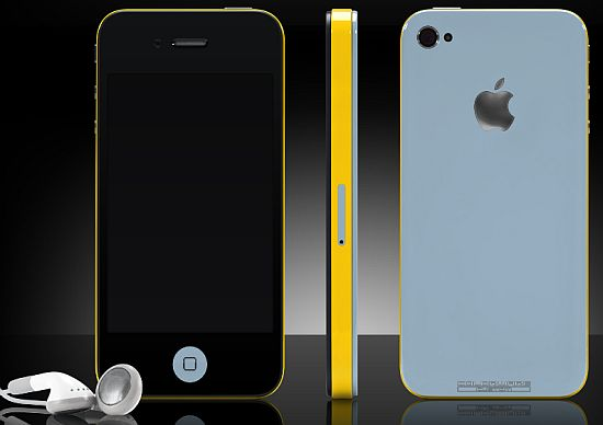 colorware customized iphone 1