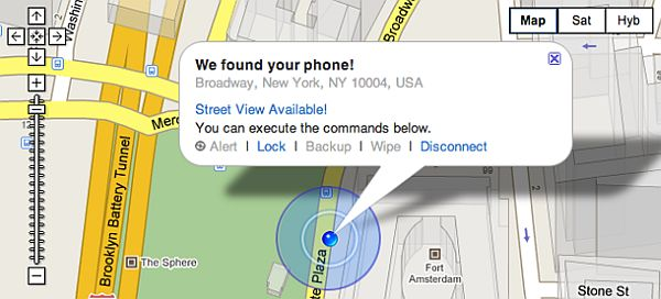 Cellphone tracking software