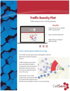 Traffic Density Plot Feature Page