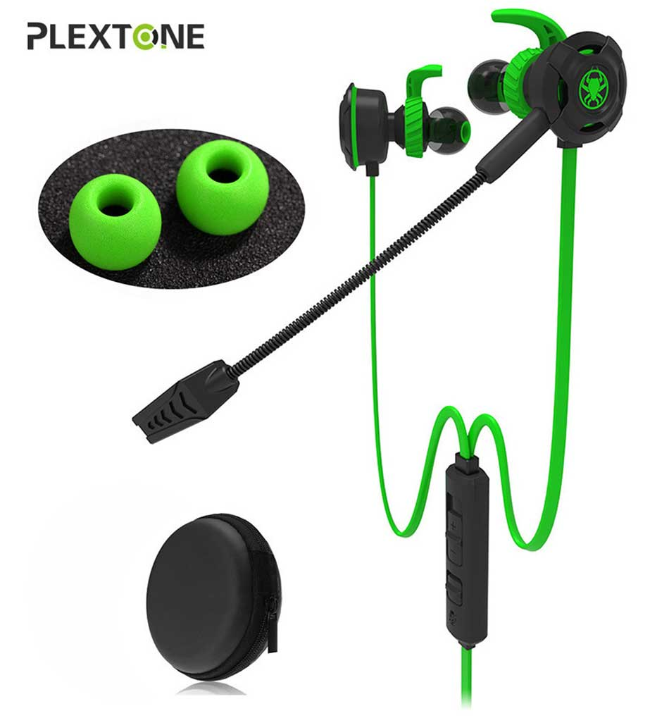 Plextone G30 Gaming Headset With Microphone-Green