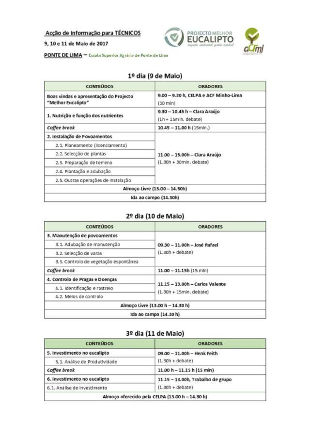 miniatura de Programa_Acção de Informação Técnica_Minho