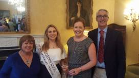 Catherine Murphy with London Rose, Caoimhe Gallagher, Ciara Murphy and William Edgin