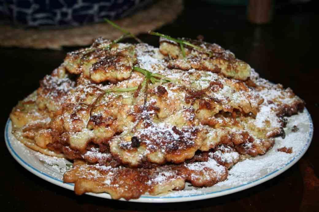 Holunderblüten-Pfannkuchen