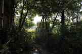 Weg in den Nutzgarten