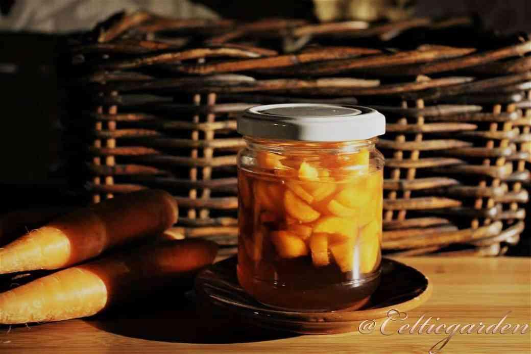 Karottensirup Möhrensirup