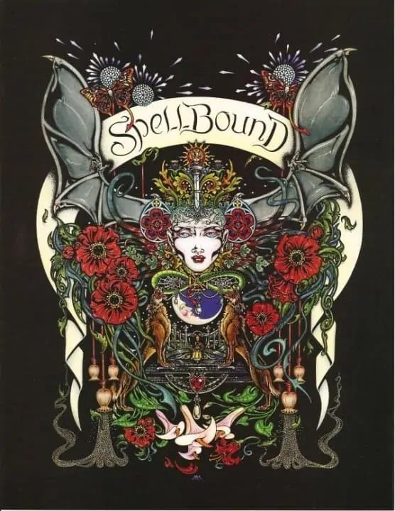 spellbound 8 5 x 11 poster print by maxine miller