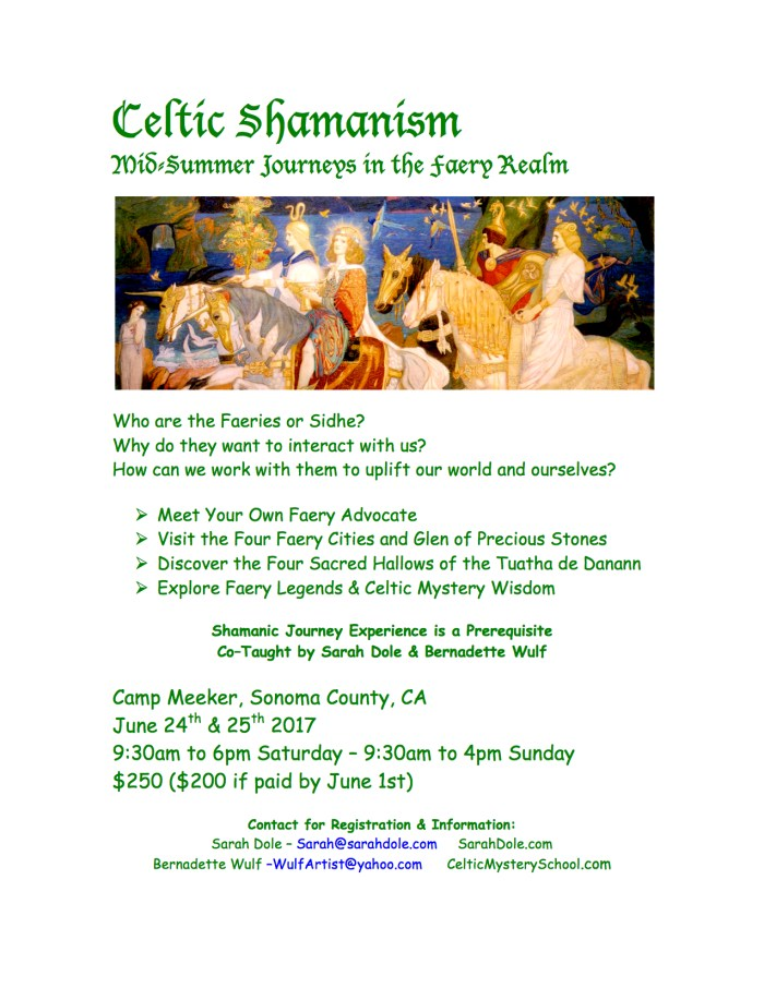 Celtic Shamanism - Mid-Summer Journeys in the Faery Realm