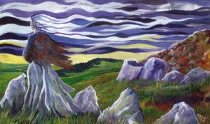 The Cailleach of the elements - prints - Celtic Myths