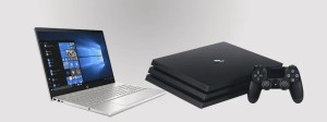 Laptop-Desktop & PlayStation