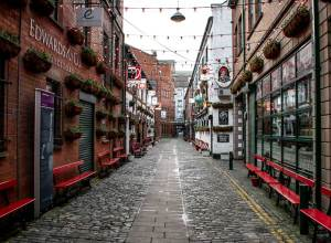 Cathedral's Quarter in Belfast