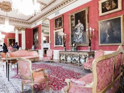 Drawing Room in Dublin Castle, Ireland