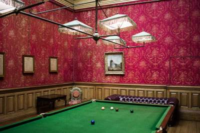 Billiard Room in Farmleigh House, Dublin