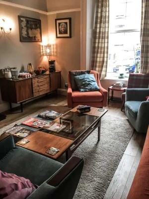 Lounge, Munro Guesthouse, Stirling, UK