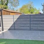 Grey Fence Panel And Post Kit 1 8m X 1 8m Www Celuplast Com