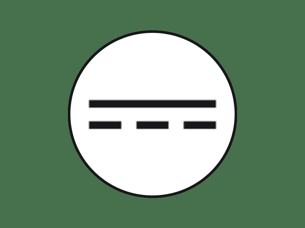 Amp Direct Current Symbol
