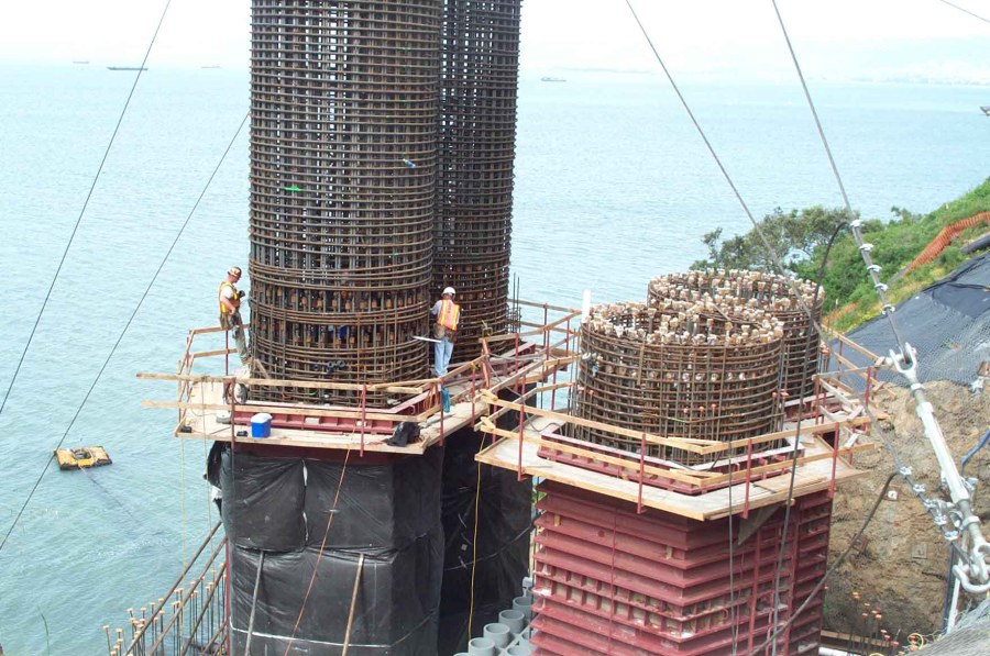 Image result for mass concrete pour