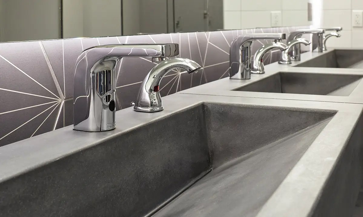 concrete sinks with naturecast cement