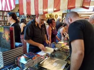 Signing at The York Emporium (Photo Copyright 2016 Nelson Leiphart)