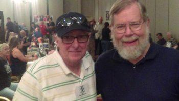 Two legends: Thomas F. Monteleone and John Maclay. (Photo Copyright 2016 Mark Sieber)