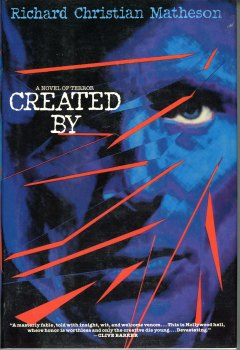 Book cover for Created By, written by Richard Christian Matheson