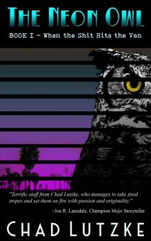 cover of The Neon Owl by Chad Lutzke