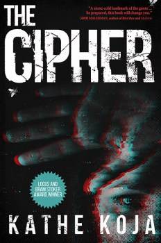 cover of The Cipher by Kathe Koja