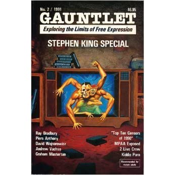 cover of Gauntlet Press Magazine #2: The Stephen King Special
