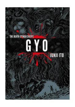 cover of gyo by junji ito