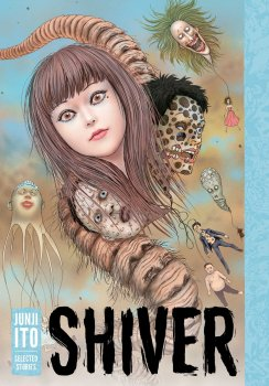 cover of shiver by junji ito