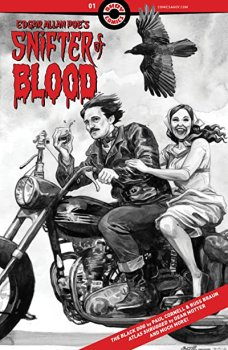 cover of Edgar Allan Poe's Snifter of Blood 1