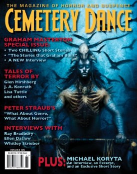 cover of Cemetery Dance #65