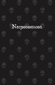 cover of necronomicon by Martin llewellyn
