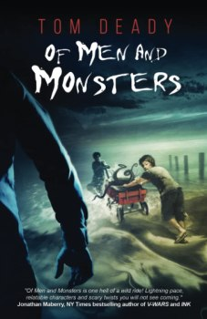 cover of Of Men and Monsters by Tom Deady