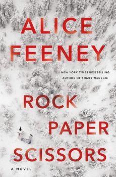 cover of Rock Paper Scissors by Alice Feeney