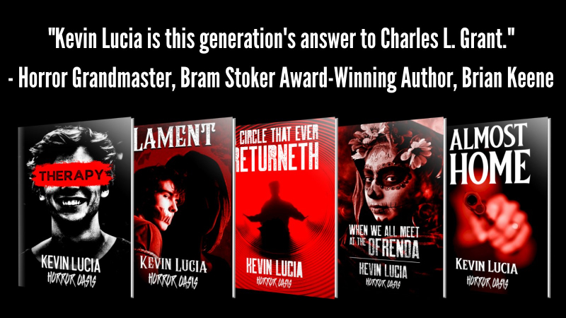 free e-books from Kevin Lucia and Horror Oasis