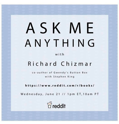 Richard Chizmar AMA