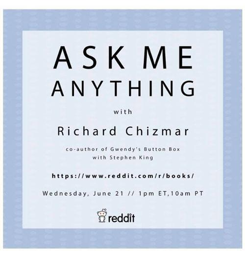 Richard Chizmar AMA