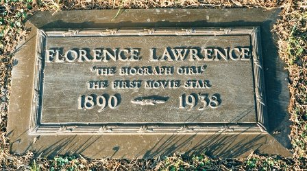 Image result for florence lawrence grave
