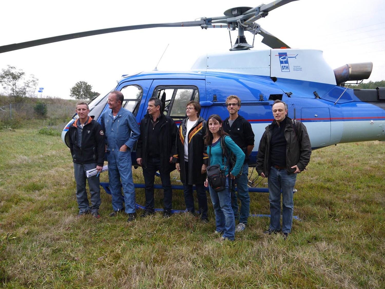 hélicoptère Boitray 2016