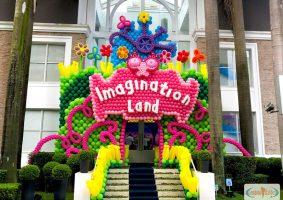 Portal de entrada imaginationland divertidamente
