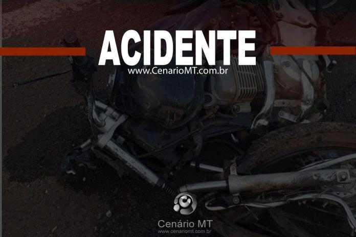 motocicleta acidente