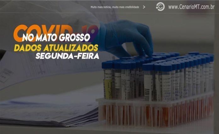 Boletim da Covid-19 em Mato Grosso nesta Terça-Feira