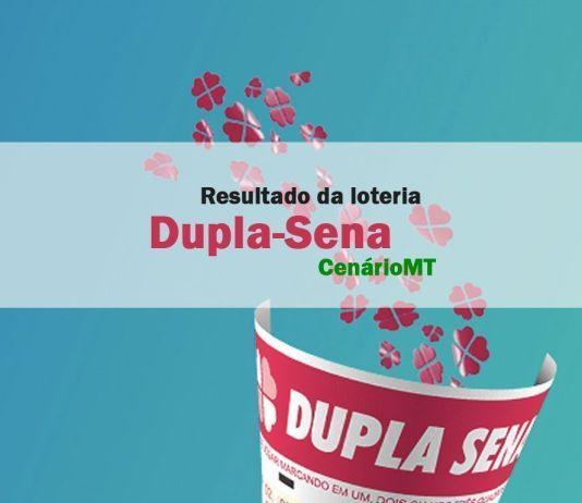 Resultado da Dupla-Sena de hoje da CEF (Caixa Econômica Federal) último resultado da Dupla-Sena no CenárioMT