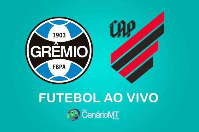 Grêmio x Athletico-PR ao vivo pelo Campeonato Brasileiro Série A