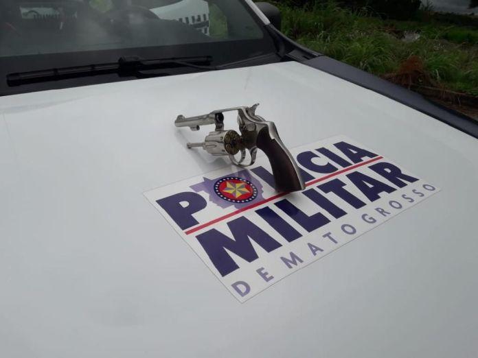 Polícia Militar revolver