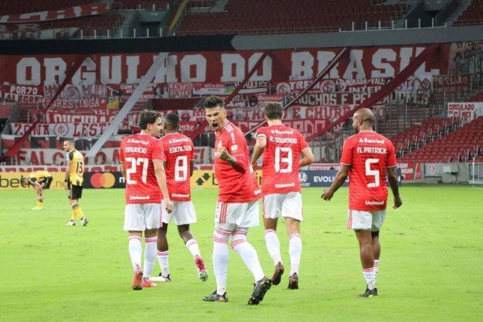 Inter goleia na segunda rodada dos grupos da Libertadores