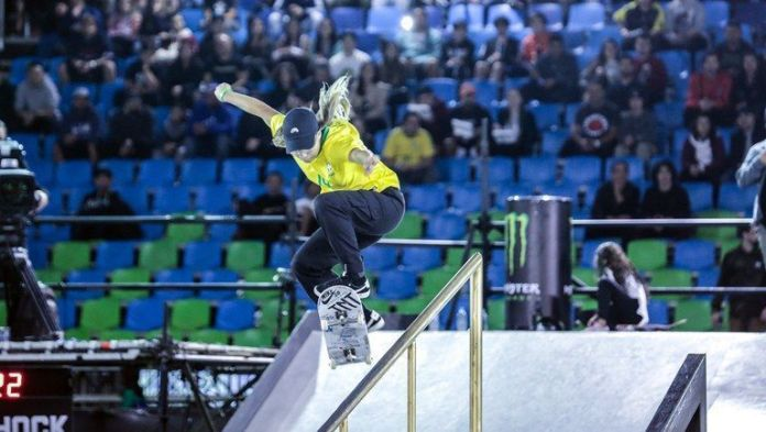 skates de uso profissional