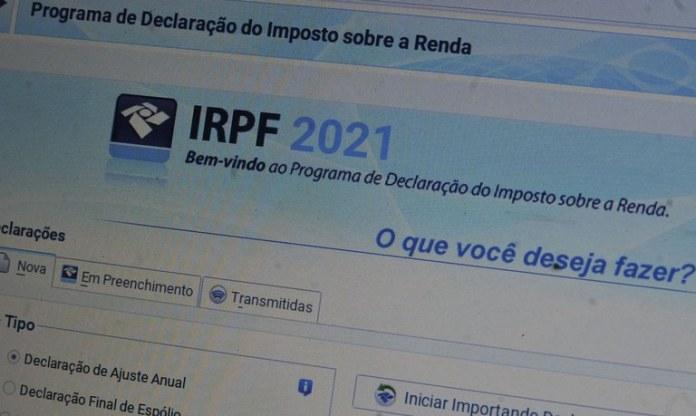 declarações de imposto de renda 2021