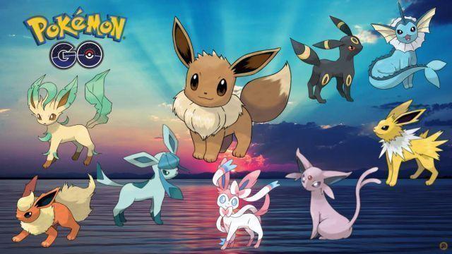 Eevee em Pokémon GO